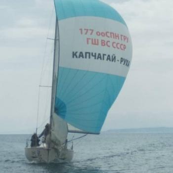 Conrad 25R Kirgizstan Spinnaker